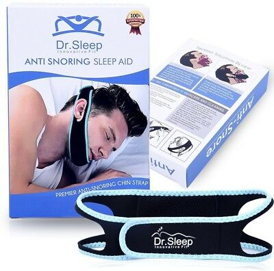 Anti Snoring Chin Strap Device Sleep Adjustable Straps to Close Mouth Sleep Aid