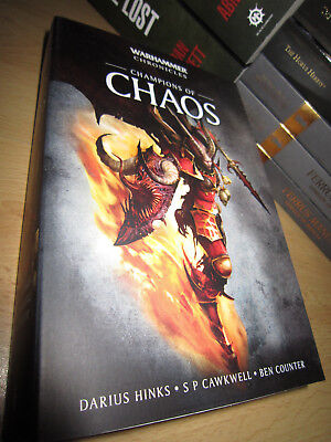Ben Counter ++ CHAMPIONS OF CHAOS Omnibus 1st/PB MINT Warhammer Chronicles