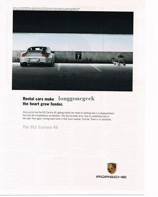 2007 PORSCHE Carrera 4S Silver In Parking Garage Advertisement