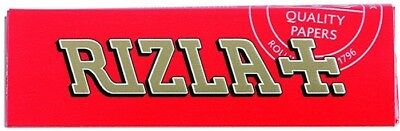Rizla Red Single Medium Weight Smoking Cigarette Tobacco Rolling 50 Papers Pack