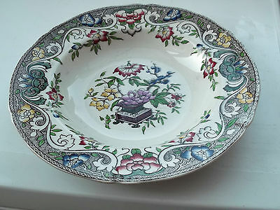 1853 Minton  M & Co  Soup Bowl ?linde Pattern   Flowers From A Table
