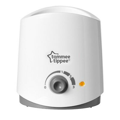 NEW Tommee Tippee Closer to Nature White Electric Bottle and Food Warmer