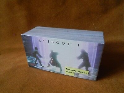 Full Set Of Star Wars Episode 1 Series Two Trading Cards Topps
