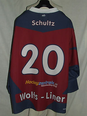 Maillot T-Shirt Maillot Ice Hockey Glace Sport Wolfs Doublure Schultz 20