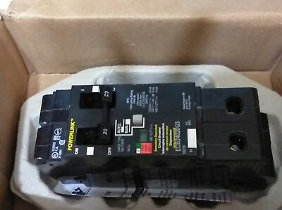 Square D Circuit Breaker  ECB24020G3 20A 480Y/277V 2P Brand New MSRP $561.00 ea.