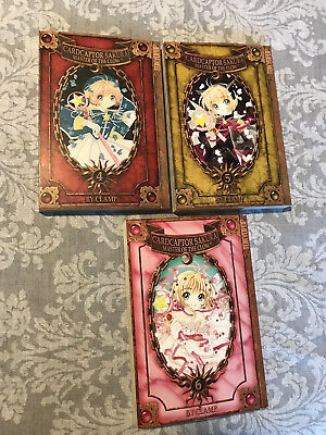 Lot Of 10-Cardcaptor Sakura-Dramacon-Masters Of The Clown-Clamp-Chmakova-Vg Cond
