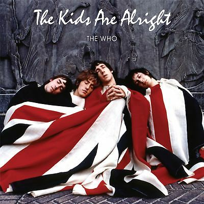 The Who - The Kids Are Alright 2 x White Vinyl LP Red & Blue RSD 2018 Exclusive