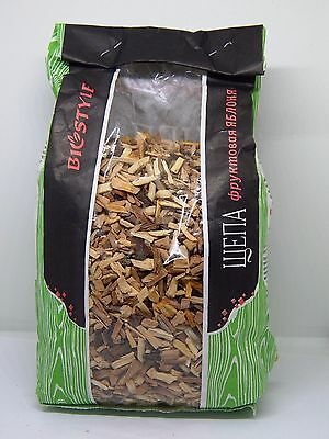 Apple Pear Alder Cherry Wood smoking chips BBQ Grill Smoker / 1 PACK FREE: 4=5