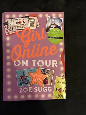 Girl Online: On Tour by Zoe Sugg (Hardback, 2015) Brand New