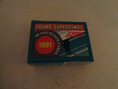 1991 Score Young Superstars - Hockey Card Set - 40 Different Cards - New In Box