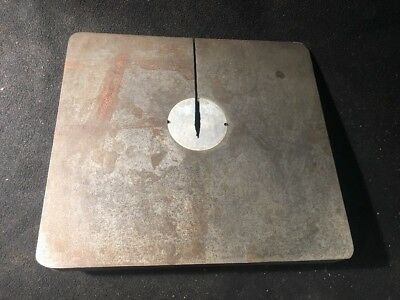 """Vintage DELTA ROCKWELL 10"""" BAND SAW TABLE Series 28-100 w/ Trunnion Assembly"""