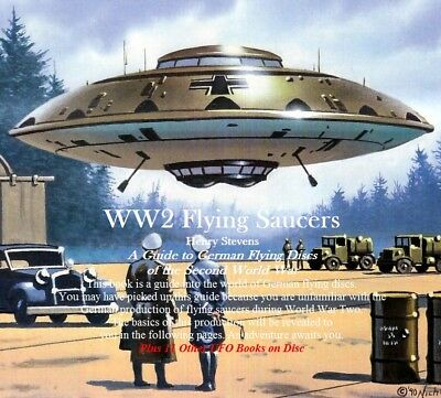 CD - UFO - WW2 Flying Saucers + 11 UFO Books