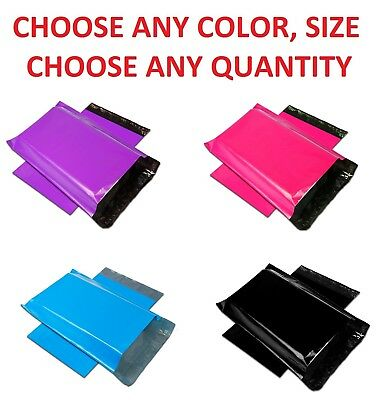 Color POLY MAILERS Shipping Envelopes Self Sealing Plastic Mailing Bags Couture
