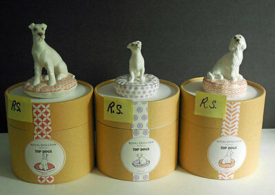 SET OF 3 Royal Doulton Top Dogs BOBO, BONES, OLLIE   NEW IN CANNISTERS