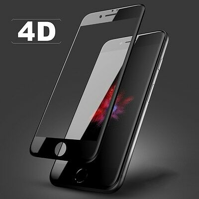 iPhone 8 Plus 4D Full Curved Cover Premium Tempered Glass Screen Protector
