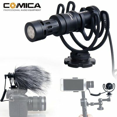 CoMica CVM-VM10 Video Recording Microphone for SONY A7 A7S A7SII GH4 GH5 Camera
