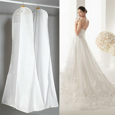 Breathable Large Garment Storage Bag Gown Bridal Wedding Dress Dust Proof Cover
