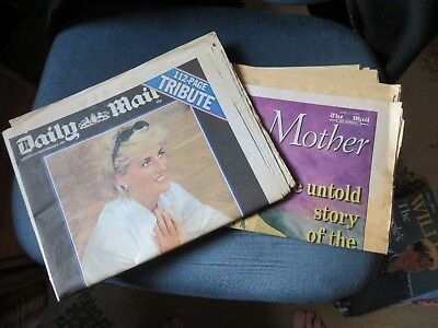 A Collection of Royal Publications 1990s to 2000s - Mainly Daily Mail