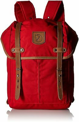 Fjallraven Rucksack No.21 Backpack - Red, Medium