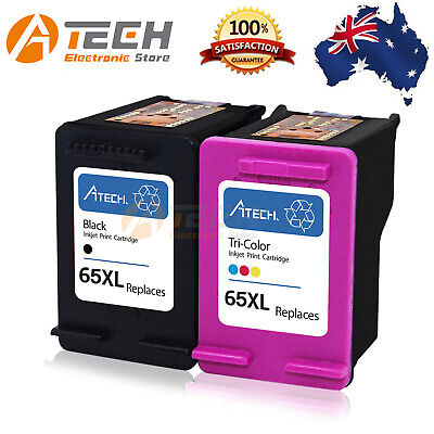 2 Black&Colour Ink for HP 65 XL Deskjet 2620 2622 3720 3721 3730 ENVY 5032 5055