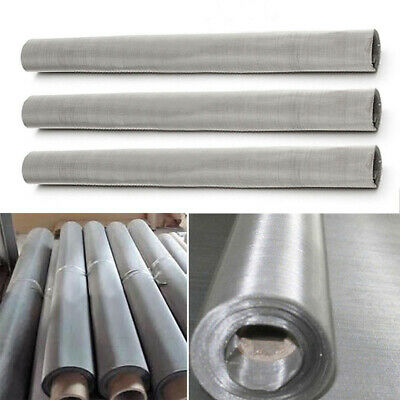 200 Mesh Stainless Steel Woven Wire Sheet Fine Filters Screen 30*60CM