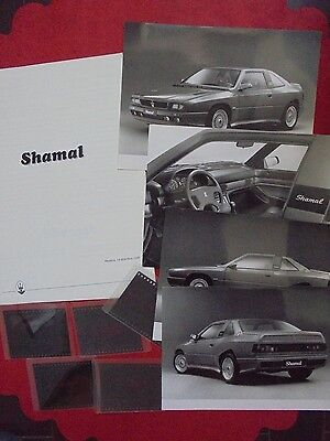 maserati shamal press kit,foto,diapositive