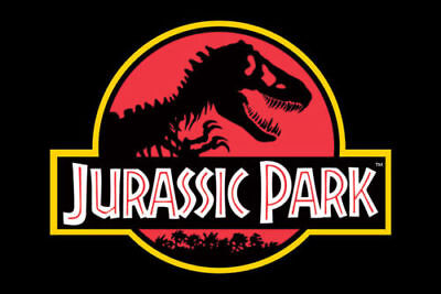 Jurassic Park Classic Logo Large Poster. Officially Licensed 61 91.5 cm