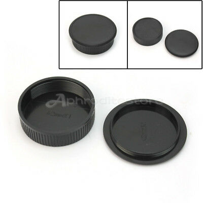 Hot Sale Black Plastic Rear Cover + Body Cap Fit For all M42 42mm Camera & Lens