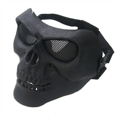 Cool Skull Bicycle Motorcycle Mask Breathable Halloween Party Role Play Mask