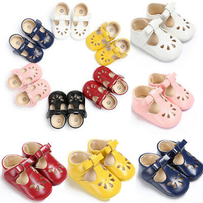 Spring Pretty Babys Infant Newborns Shoes Soft Baby Girls Walking Shoes Size WND