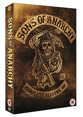 Sons Of Anarchy - Complete Seasons 1 & 2 (DVD Box Set) New & Sealed UK Region 2