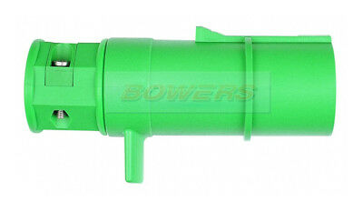 24V 24S 7 Pin Pole Plastic Towing Plug Socket Lorry Truck Trailer 13000.1020