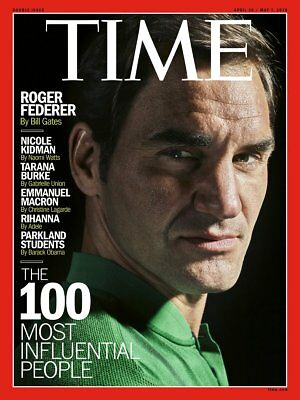 TIME Magazine Roger Federer The 100 Most Influential People in the World 2018