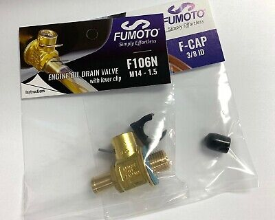 Fumoto F106N Oil drain valve with nipple M14 – 1.5 W/ LC-10 Clip