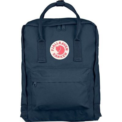 Fjallraven Kanken Classic Royal Blue Backpack Bag GENUINE Unisex Fast Shipping