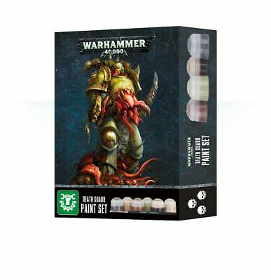 Warhammer 40,000 - Death Guard Paint Set
