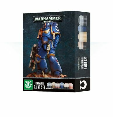 Warhammer 40,000 - Ultramarines Paint Set