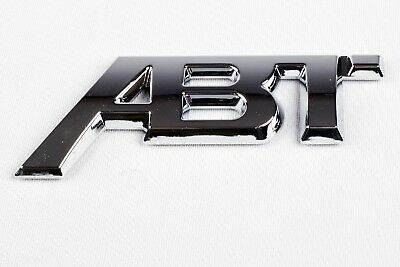Audi ABT QUATTRO Badge QUALITY Logo Emblem Decal Boot A3 RS S LINE CHROME S4 S5