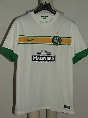MAGLIA CALCIO SHIRT TRIKOT MAILLOT CAMISETA SPORT CELTIC GLASGOW AWAY tg. L