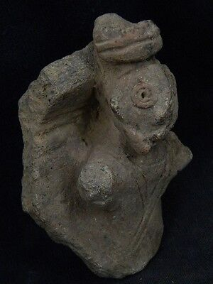"Ancient Indus Valley Teracotta Idol Figure C.800 Bc """"t889"""""
