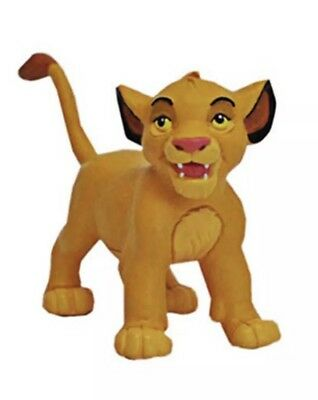 12554 Young Simba Figurine Toy Disney Lion King Bullyland Cake Topper Figure
