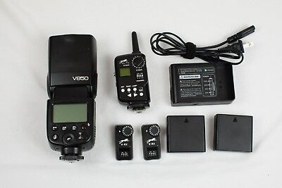 Cheetah v850 Flash for Canon with XTR16S 2.4GHz receivers