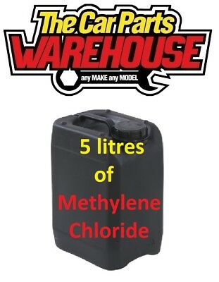 5 Litres DICHLOROMETHANE SOLVENT METHYLENE CHLORIDE ⭐️ Actual Cheapest ⭐️