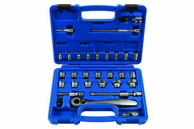 ORIGINALE LASER Tools 7068 Low Profile / Dual Drive Set chiavi 31pc