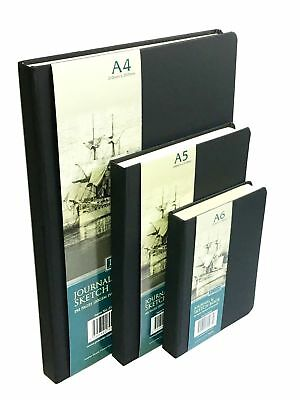 Journal and Sketch Book A4/ A5/ A6 120gsm Ivory Paper Draw Sketch Artist's Pad