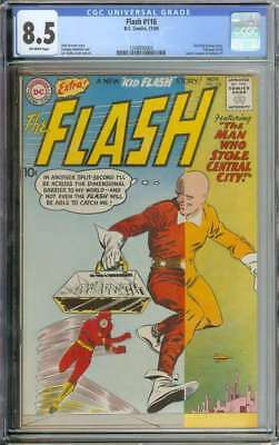 Flash #116 Cgc 8.5 Ow Pages