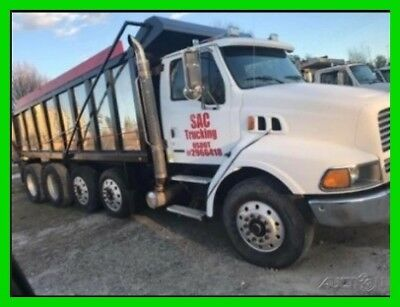 1999 Sterling L8500 Dump Truck, Used, CAT C7 Engine, New Drive Shift, 8 Speed
