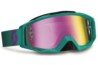 Scott Works Goggle MX-Brille Enduro Brille Tyrant Paste Green