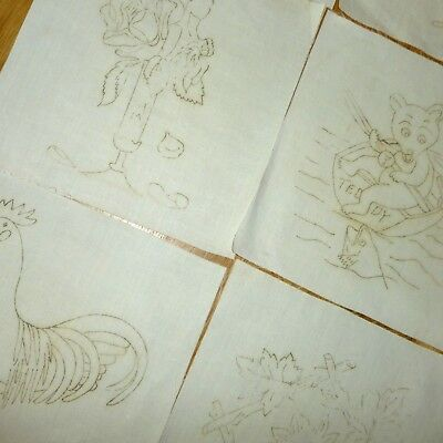 Victorian Sepia Transfer Quilt Blocks