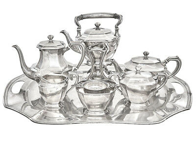Monumental Black, Starr & Frost 8-Pc Sterling Silver Tea and Coffee Service